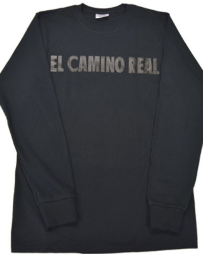 Long Sleeve Ts Black on Black