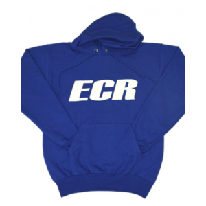 ECR Blue Hooded Sweatshirt