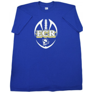 Blue T shirt Football